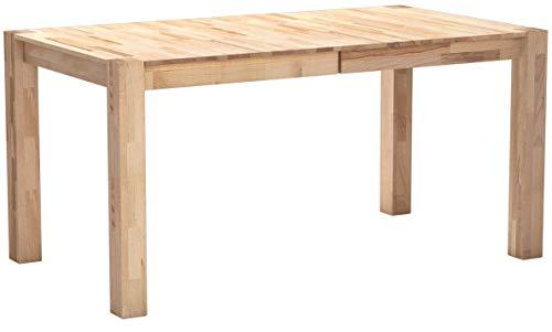 Robas Lund,Tisch, Esszimmertisch, Ferdi, Wildeiche/Massivholz, 90 x 160 x 76 cm, FER160WE