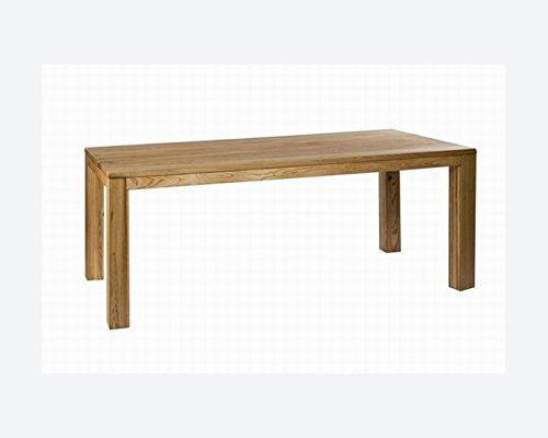 SAM® Esszimmertisch Esszimmer Tisch Damar Wildeiche 200 x 90 cm geölt Esszimmer Handarbeit