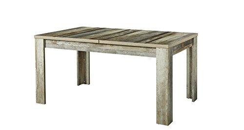 Stella Trading BZDDD02901 Esszimmer Tisch Holztisch Driftwood ohne stühlen, Holz, braun, 160 x 76 x 90 cm