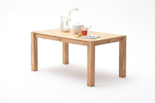 Tisch, Esstisch, Esszimmertisch, Küchentisch, Massivholztisch, ausziehbar, Ausziehtisch, Kernbuche, Buche, Mittelauszug, rechteckig