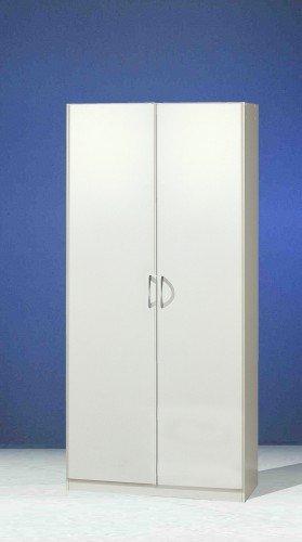Wimex Kleiderschrank/ Drehtürenschrank Sprint, 2 Türen, (B/H/T) 90 x 197 x 58 cm, Weiß