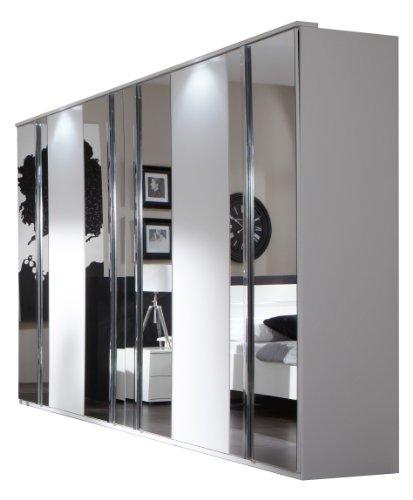 Wimex Kleiderschrank/Drehtürenschrank Davos, (B/H/T) 270 x 210 x 58 cm, Weiß