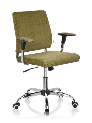 hjh OFFICE 719090 Büro-/Dreh Stuhl, Charles, grün