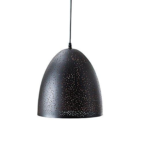 Filigrane Hängeleuchte MOONLIGHT DANCE II schwarz kupfer Hängelampe Pendelleuchte E27 Esszimmerbeleuchtung