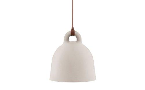 Normann Copenhagen - Bell Hängeleuchte - sand - Ø 55 cm - Andreas Lund & Jacob Rudbeck - Design - Deckenleuchte - Pendelleuchte - Wohnzimmerleuchte