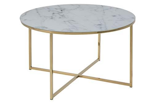 Amazon Brand - Movian Rom, Lampentisch, 86,5 x 88 x 45 cm (L x B x H), Weiß